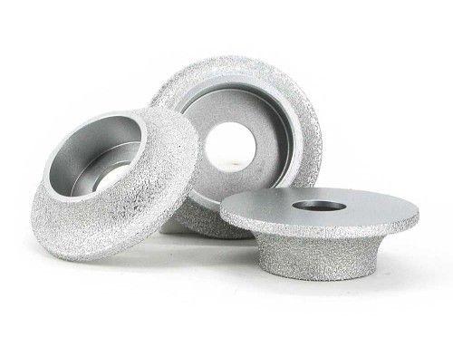 Brazed Diamond Semicircle Grinding Wheel Forture Tools Brazing Artificial Stone Glass Ceramic