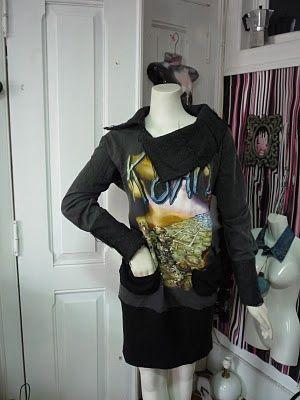 """vestido de uma t-shirt """" sim gosto de #korn e depois!"""""""