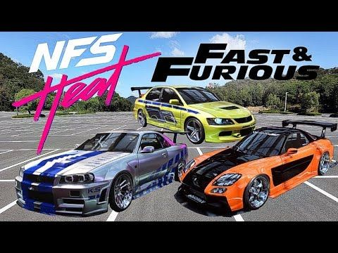 Need For Speed Heat Fast And Furious Cars Youtube Need For Speed Cars Fast And Furious Need For Speed