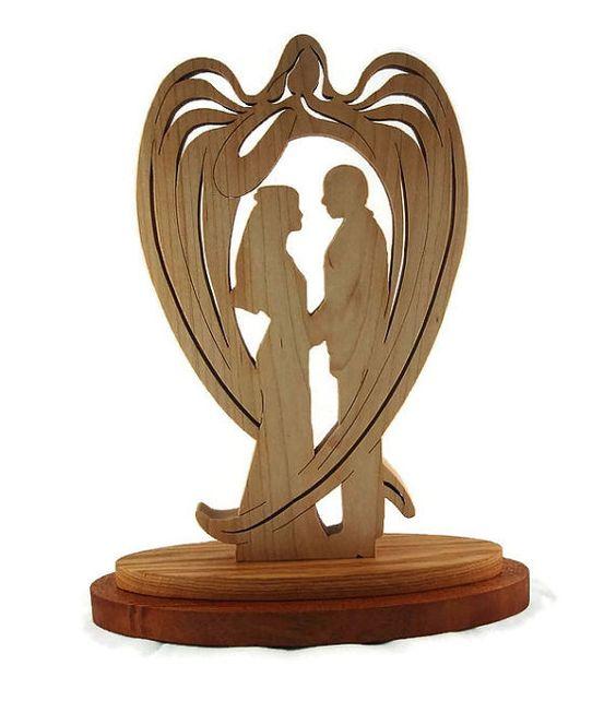 Mariage / mariage ange gardien à la main par KevsKrafts sur Etsy