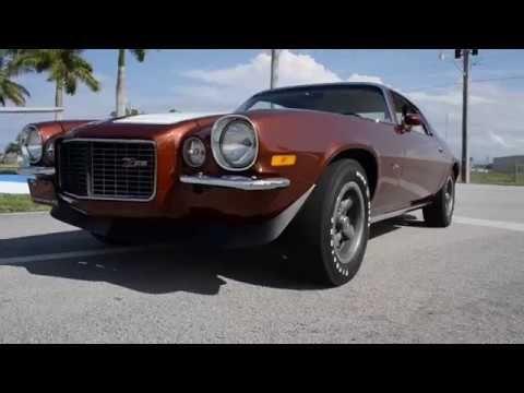 Splendid 1970 Camaro Rs Z28 In Classic Copper Hot Cars Camaro