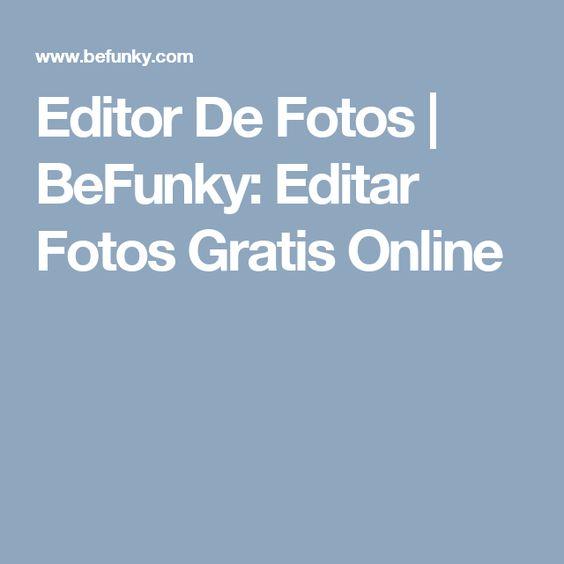 Editor De Fotos   BeFunky: Editar Fotos Gratis Online