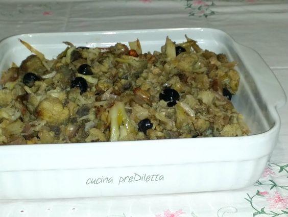 Cavolfiore affogato al forno, ricetta, cucina preDiletta