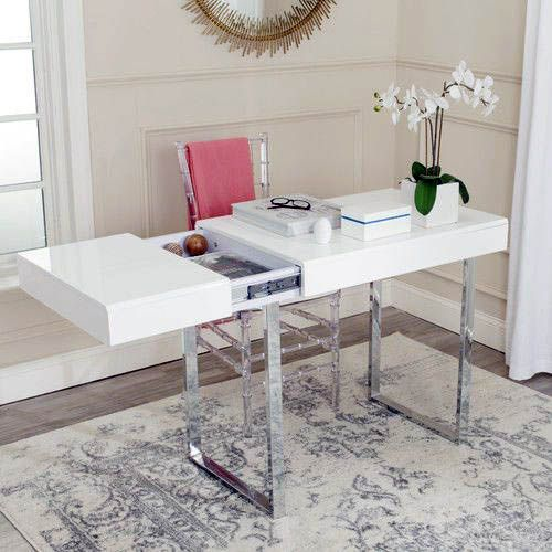 White Office Desk Ikea