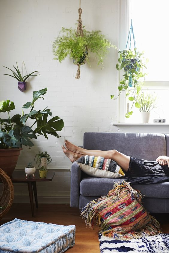 Urban outfitters blog us uo home for the holidays for Plants in a living room