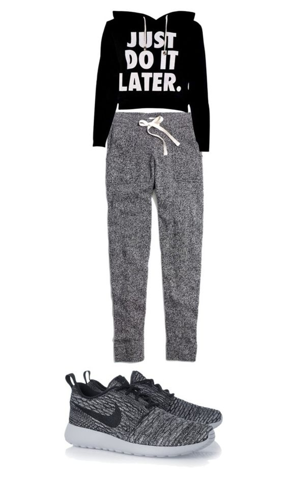 """Gym outfit"" by shanyiae on Polyvore featuring Madewell and NIKE"