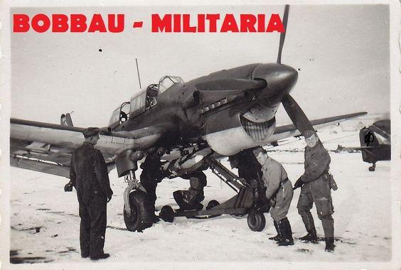PB197 JU87 Stuka Flugzeug Bomben-Beladung Norwegen Finnland ? TOP MOTIV airplane | eBay