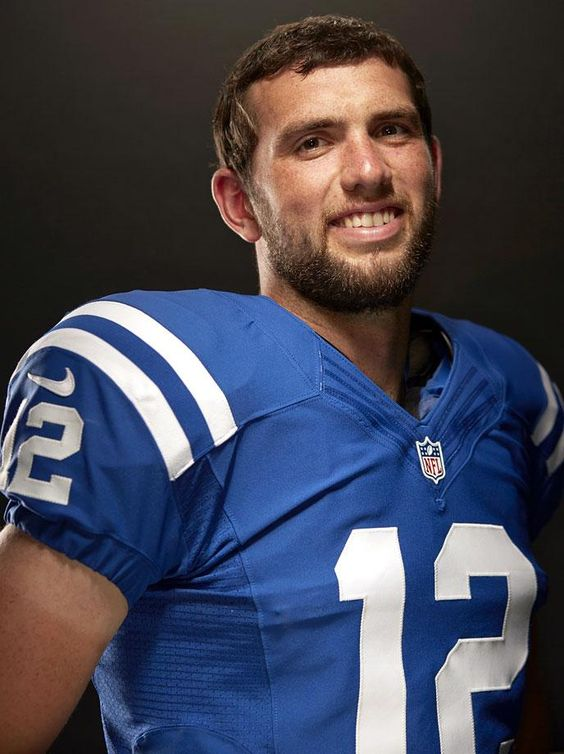 Andrew Luck, Indianapolis Colts . Perfection. Inspirational.