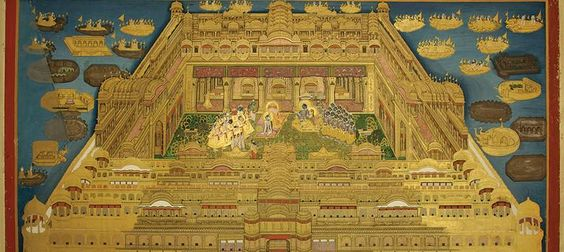 Images: Krishna wearing a scarf to battle the cold and other memorabilia from Jaipur's court. http://buff.ly/1K4zEF6
