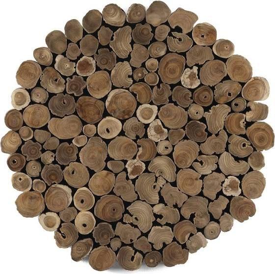 Wonderbaar wanddecoratie hout blokken (met afbeeldingen) | Houten blokken, Hout OB-75