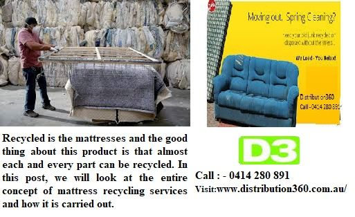 The Immediate Benefit That You Me And Our Future Generations Get Is A Greener And A Healthier Place To Dwell Bec Recycling Recycle Mattress Recycling Services