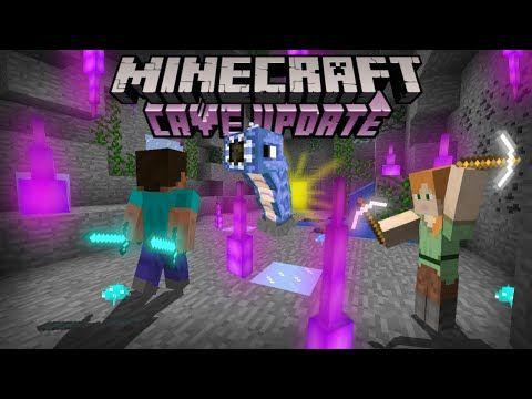 Minecraft Pe 1 17 Trailer Oficial Cave Update Youtube Minecraft Minecraft Pe Minecraft 1