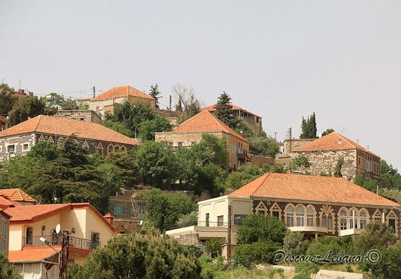 Mhaidseh Mount Hemon Red Roofs Houses Red Roof House Roof Architecture Shed Roof