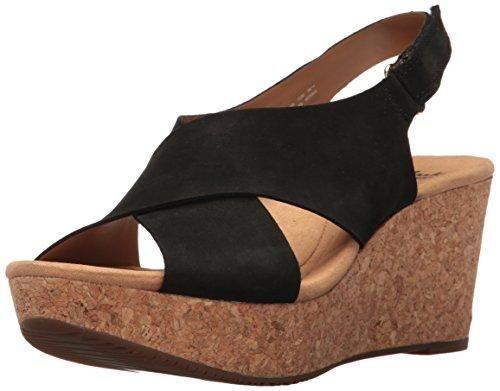 Clarks Women/'s   Annadel Eirwyn Slingback Wedge Sandal