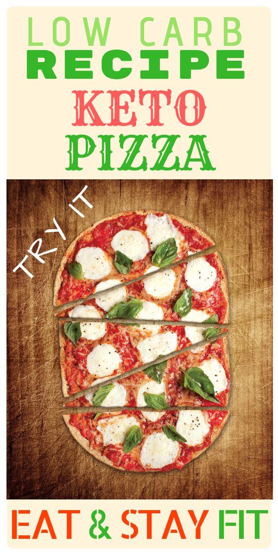 Recipe KETO PIZZA Low CARB KETO Diet
