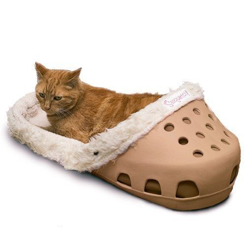 There S A Shoe Shaped Dog Bed That Exists For Dogs That Love Slippers