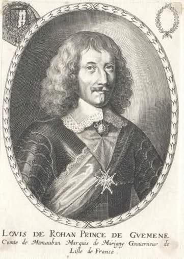 Louis VIII de Rohan, 3ème. Duc de Montbazon, Pair de France, Prince de Guéméné, Comte de Rochefort (1598-1667).