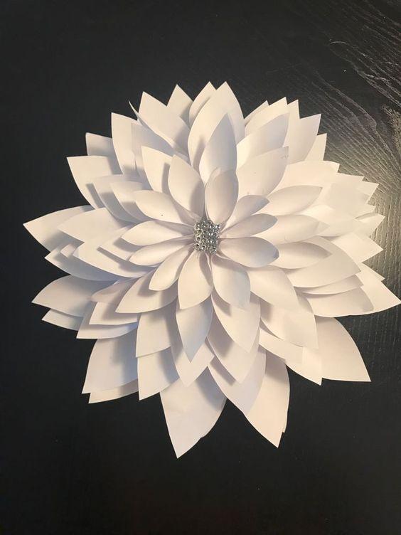 Large Paper flowers 13.5 in  | eBay