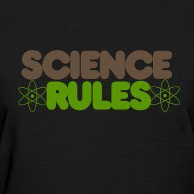 Science RULES - teacher t-shirt
