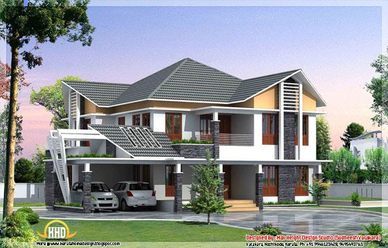 7 Beautiful Kerala Style House Elevations Kerala House Design