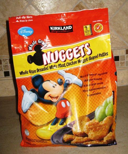 My Disney Mania: Disney Chicken Nuggets from Costco