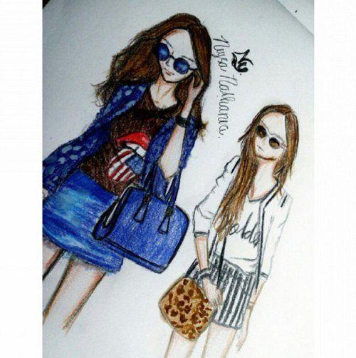 FashionCoolture: drawing!    por Flávia Linden | Fashion coolture       - http://modatrade.com.br/fashioncoolture-drawing