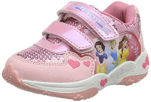 Disney Princess Girls Kids Athletic Sport, Mädchen Sneakers, Mehrfarbig (197 PINK/PINK/CORAL), 29 EU - http://on-line-kaufen.de/disney-princess-2/29-eu-disney-princess-athletic-sport-maedchen