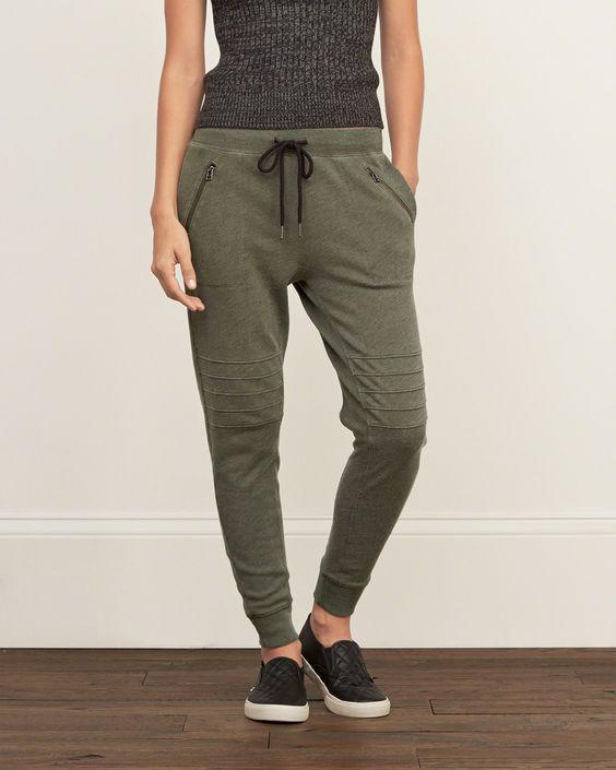 Womens A&F Slouchy Joggers | Womens Sweatpants & Joggers | Abercrombie.com