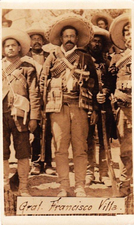 ✢ STYLE ✢ Viva Mexico | Pancho Villa
