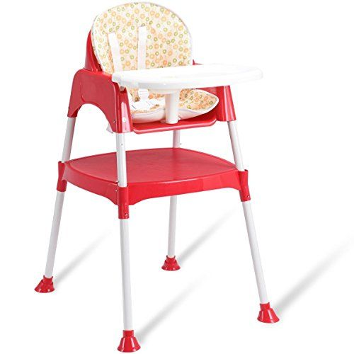 3 in 1 Convertible Table Seat Toddler Feeding Baby High