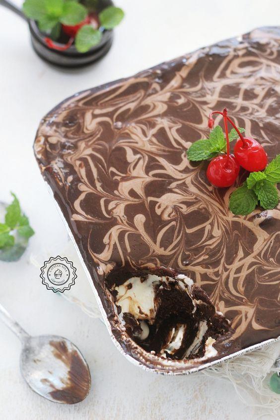 Choco Cheese Lava Cake Berhantu Catatan Nina Resep Kue Yang Mudah Memanggang Kue Makanan Manis