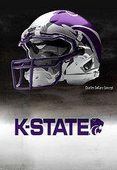 Kansas State football helmets