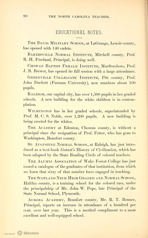 The North Carolina Teacher 1886, Volume 1886, Page 96 | Document Viewer
