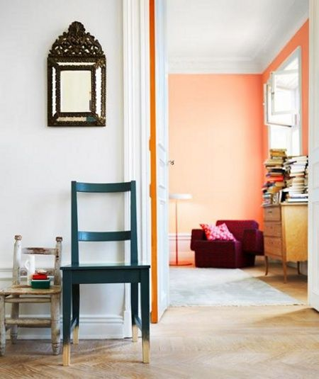 colour pop: painted door edges | Home improvement | Pinterest ...