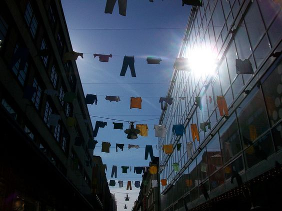 Stockholm Clothes Lines by Richard_of_England, via Flickr