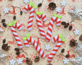 Fieltros adornos de Navidad pack de 25 por MiracleInspiration