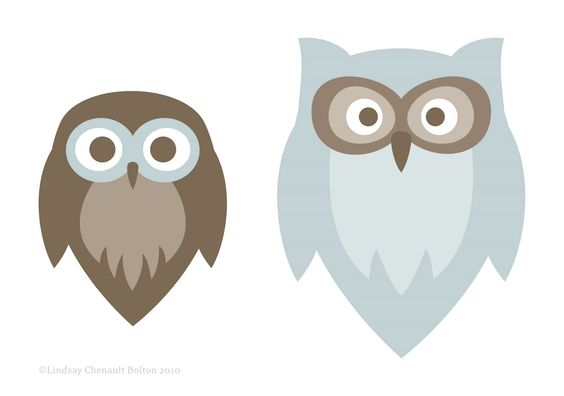 Owls (In Progress) - by Lindsay Chenault Bolton