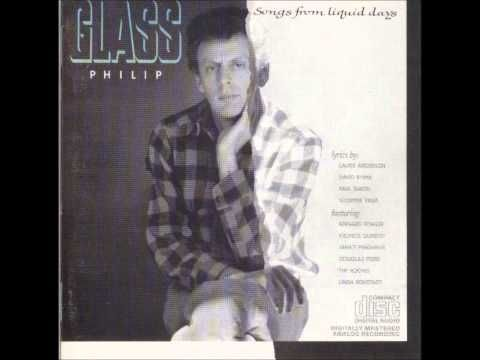 Philip Glass - Songs From Liquid Days - 01 Changing Opinions - YouTube