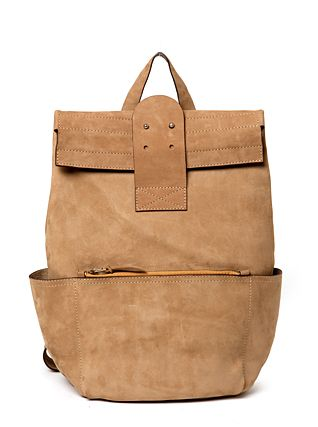 the madly leather backpack $450 #accessories #bags