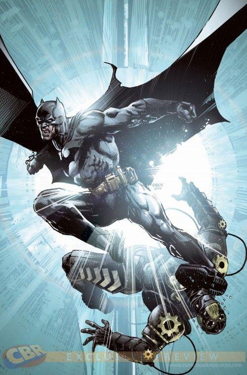 Batman Eternal #22 cover by Jason Fabok