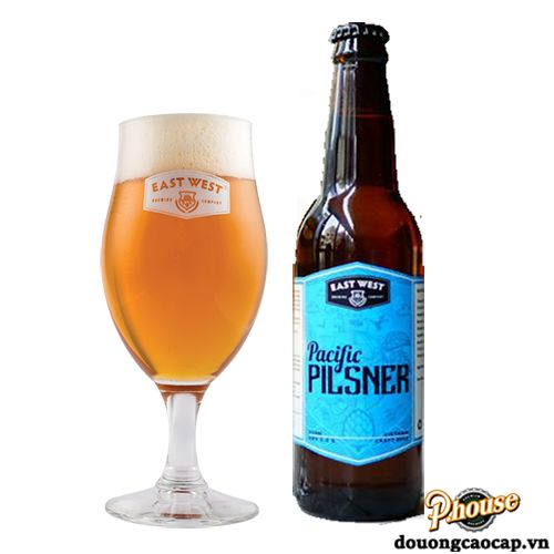 Bia East West Pacific Pilsner 5% - Chai 330ml - Bia Craft Mỹ TPHCM
