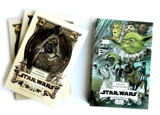 William Shakespeare's Star Wars Trilogy: The Royal Imperial Boxed Set: Includes Verily, A New Hope; The Empire Striketh Back; The Jedi Doth Return; and an 8-by-34-inch full-color poster: Amazon.de: Ian Doescher: Fremdsprachige Bücher