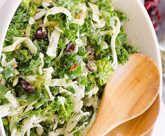 Kale Salad 5 SMART POINTS | Veggies/Salads | Pinterest | Kale Salads ...