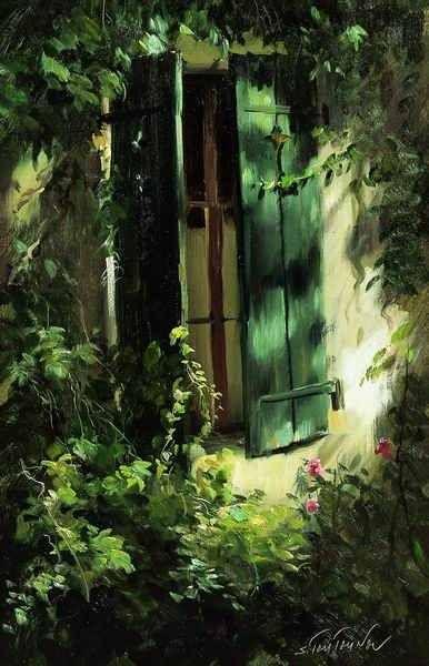 Despre cărţi, muzică, pictură şi oameni!: A Small Piece of Heaven in Sergei Tutunov's Paintings (Part I)