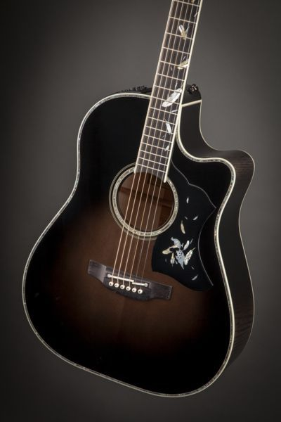 Limited Edition | LTD2014 Grouse | Takamine Guitars  This guitar is stunning!!!!!
