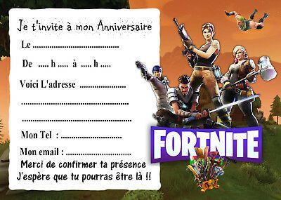 Personnalisé Fortnite Carte d/'anniversaire-Fils Fille nièce neveu Frère Soeur