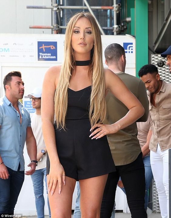Not happy: Geordie Shore starlet Charlotte Crosby took to social media over the…