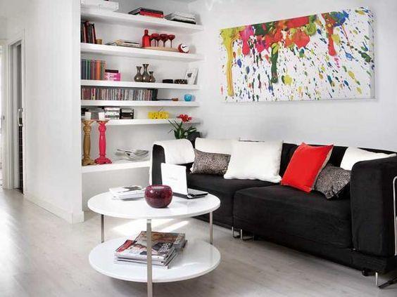 luminoso y con mucho estilo un apartamento de slo m pequenas pocos metros