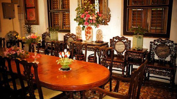 Bảo tàng Peranakan tọa lạc trong một ngôi trường cũ xinh đẹp