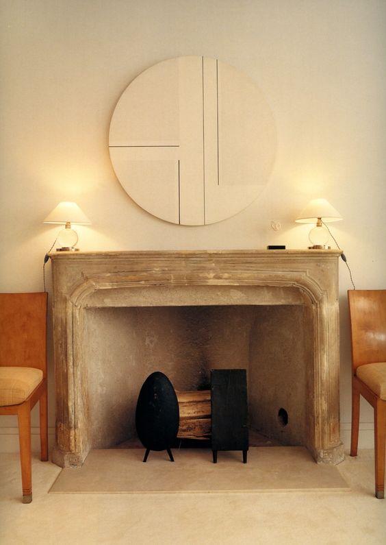fireplace + Irons